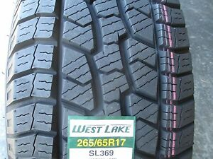 4 New 265 65r17 Westlake Sl369 Tires 65 17 R17 2656517 At All Terrain A t 500aa