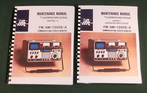 Ifr Fm am 1200s a Communications Monitor Service Manual