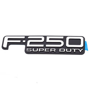 1999 2004 Ford F250 Super Duty Tailgate Emblem Nameplate Decal Oem F81z9942528db