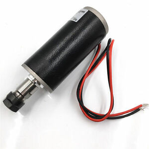 Er11 Natural Cooled 150w Brushed Spindle Motor Dc24 Cnc Diy Router Machine