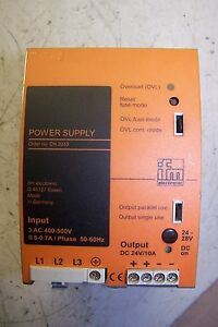Ifm Power Supply 24 28 Vdc Output Dn2033 Sl10 602