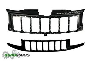 2014 2018 Jeep Grand Cherokee Front Primed Radiator Grille New Mopar Oem Genuine