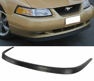 99 04 Ford Mustang Pu Oe Style Front Bumper Lip Poly Diffuser Urethane Body Kit