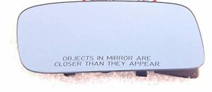 Fits 09 14 Acura Tl Right Passenger Mirror Glass Convex Blue Tint Heated