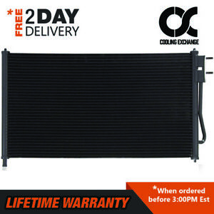 3391 Condenser For Ford Focus 2005 2006 2007 2 0 2 3 L4