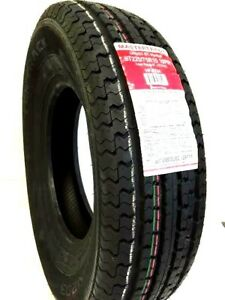 2 235 80r16 Trailer Tire Heavy Duty Trailer 235 80 16 Load E 10 Ply Rated
