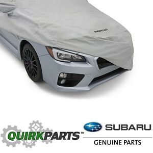 2008 2014 Subaru Impreza Wrx Car Cover Wagon Hatchback Models Oem New M001sfg800
