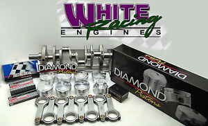 Bbc 496 Chevy Forged 4340 W Diamond Pistons Balanced Rotating Assy 1pc Rms 060