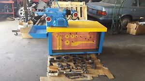 Ammco 4000 Brake Lathe Loaded With Tooling And Bench