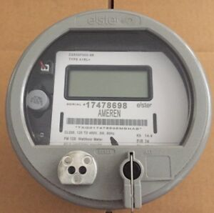 Elster Watthour Meter kwh Alpha A3t Fm12s 200a 5 Lug 3wire 120v 480v