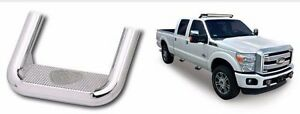 Hoop Ii Heavy Duty Truck Steps Pair Polish Fits 2015 Chevy Colorado