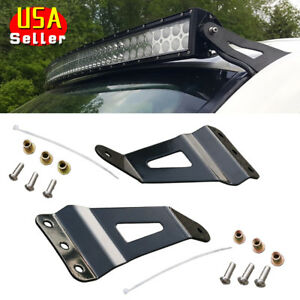 50 Curved 07 14 Led Light Bar Mount Bracket For Chevy Silverado Gmc Sierra