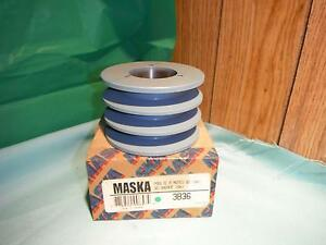Maska 3b36 3 Belt Sheave Pulley For Use With Qd sh Bushing