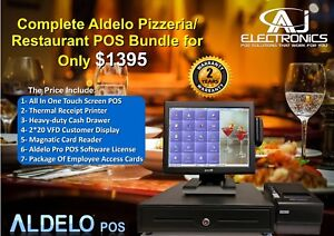 Aldelo 2013 Pos Pizzeria Bar Night Club Complete System