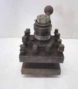 Vintage Mccrosky Heavy Duty Turret Tool Post Size 4 1 2 Series 656 Or 6356