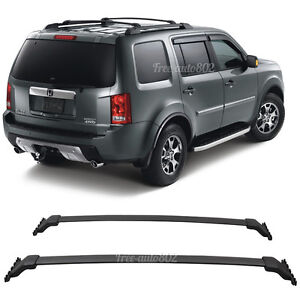 Fit For 09 15 Honda Pilot Oe Black Top Roof Rack Cross Bar Mounting Accessory