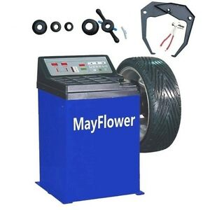 Mayflower New Wheel Balancer Tire Balancers Machine Rim Car Heavy Duty 680