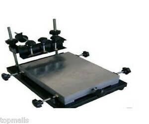 New Manual Solder Paste Printer pcb Smt Stencil Printer L Size 600 450mm