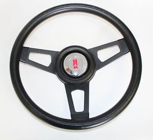 69 93 Cutlass F85 98 442 Grant Steering Wheel Black With Black Spokes 13 3 4