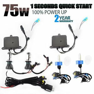75w Hid Xenon Headlight Conversion Kit Bulbs H1 H3 H4 H7 H11 9005 9006 880 881