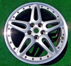 1 Original Genuine Oem Factory Ferrari 612 Scaglietti 2 piece 19 X 10 Rear Wheel
