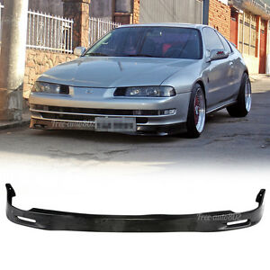 Fit For 92 96 Honda Prelude Bb1 Spoon Style Pu Front Bumper Lip Polyurethane