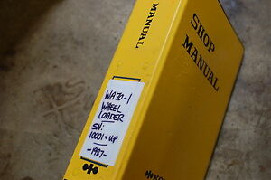 Komatsu Wa70 1 Front End Wheel Loader Service Repair Manual Book Shop Overhaul