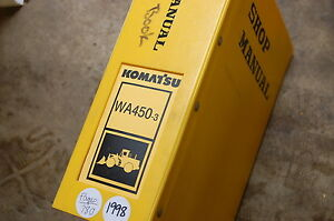 Komatsu Wa450 3 Front End Wheel Loader Service Repair Manual Book Shop Overhaul