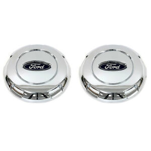 04 08 Ford F150 03 04 Expedition Chrome 17 Inch Wheel Hub Cover Center Caps Oem