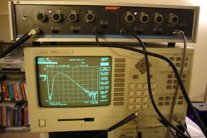 Hp 35660a Acoustic Vibration Spectrum Dynamic Signal Analyzer 2 Channel 102 4khz