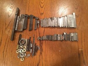 Huge Vtg Metal Lathe Bit Lot Tool Holder Cutter Crucible Mo Max Dumont Armstrong