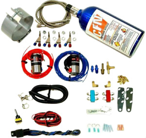 Motorcycle Nitrous Wet Kit 4 Cylinder Direct Port Fogger Wet Kit