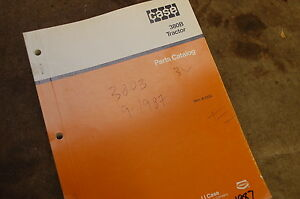 Case 380b Tractor Loader Parts Manual Book Catalog List Spare Front End Farm Oem