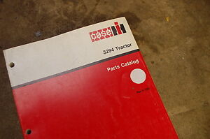 Case 3294 Tractor Loader Parts Manual Book Catalog List Spare Front End Shop Oem