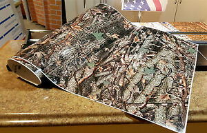 Gloss Camo Decal Made From 3m Wrap Vinyl 52x24 Truck Camo Tree Print Camouflage