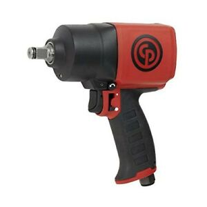 Chicago Pneumatic Cp7749 1 2 inch Compact Twin Hammer Air Impact Wrench