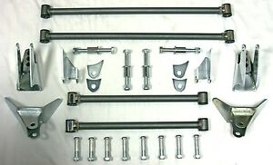 30 S 40 S Ford Chevy Plymouth Street Rod Triangular Rear Four Bar 4 Link Kit