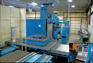 Giddings Model Mc60 6 4 axis Table Type Cnc Horizontal Boring Mill