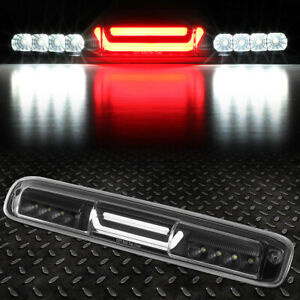 For 99 07 Silverado Sierra 3d Led Third 3rd Tail Brake Light Reverse Lamp Black