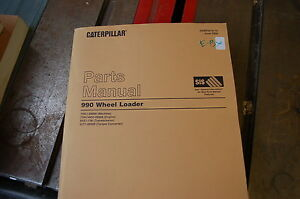 Cat Caterpillar 990 Wheel Loader Parts Manual Book Shop Catalog Front End Spare
