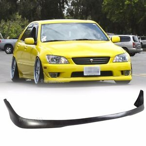 Fit For 01 05 Lexus Is300 Sedan 4dr J Style Front Bumper Lip Pu