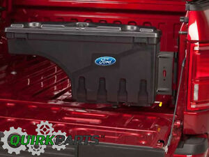 2015 2018 Ford F 150 Lockable Truck Bed Pivot Tool Storage Box Right
