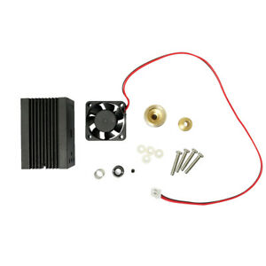 2pcs Laser Module Housing 33x33x50mm For 5 6mm To 18 Ld With Glass Lens