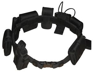 Security Guard Law Enforcement Equipment Duty Belt Police Officer Military Nylon