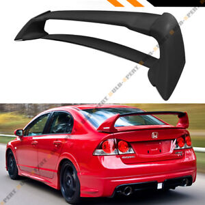 Mug Rr Jdm Style Primered Trunk Spoiler Wing For 2006 2011 Fa Fa5 Honda Civic 4d