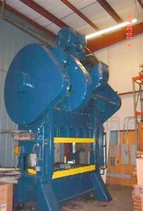 200 Ton Bliss Straight Side Press 84 X 48 Bed For Sale