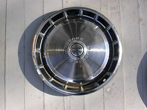 1970 S Ford Mustang Wheel Cover Hub Cap