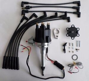 Small Cap Chevy Inline 6 Cylinder 194 216 235 Black Hei Distributor