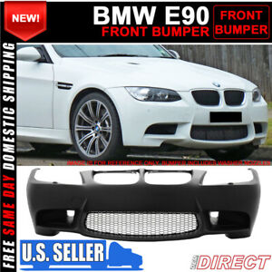 For 09 11 Bmw E90 E91 3 Series M3 Style Front Bumper Conversion With Air Duct