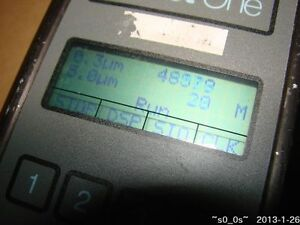 Used Met One 227b Handheld Air Particle Counter W o Humidity temperature Probe